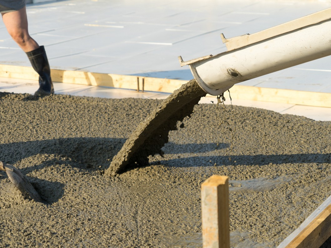 We can install any concrete feature